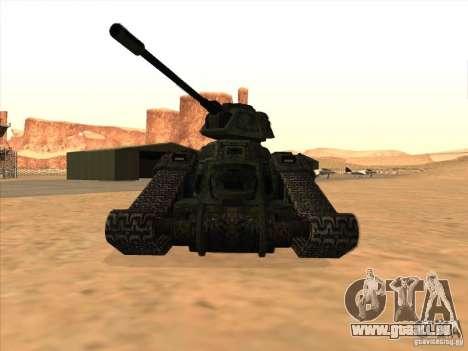 Tank aus dem Spiel TimeShift für GTA San Andreas linke Ansicht