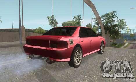 New Sultan HD für GTA San Andreas rechten Ansicht