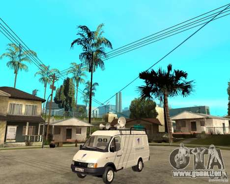 Canal de nouvelles de Gazelle 2705 pour GTA San Andreas