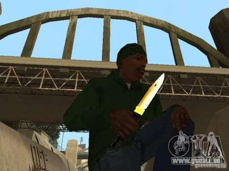 Pak Golden Waffen für GTA San Andreas dritten Screenshot
