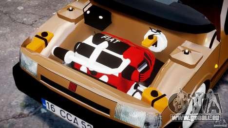 Fiat Tipo 1990 pour GTA 4 vue de dessus