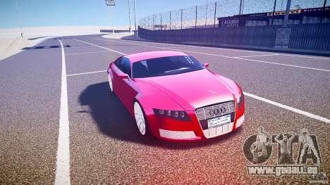 Audi Nuvollari Quattro für GTA 4 Innenansicht