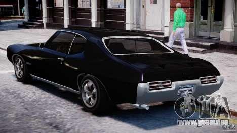 Pontiac GTO 1965 v1.1 pour GTA 4 Vue arrière de la gauche