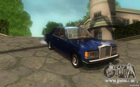 Rolls-Royce Silver Spirit 1990 pour GTA San Andreas sur la vue arrière gauche
