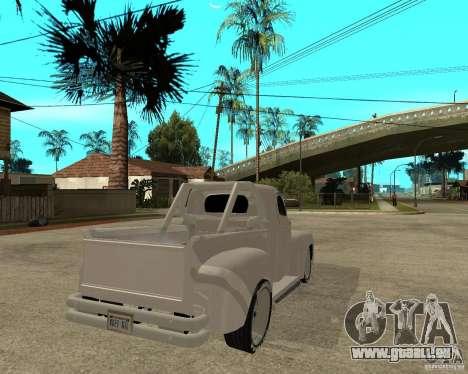 Ford F1 Pickup Hotrod 49 für GTA San Andreas zurück linke Ansicht