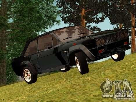 Fiat 131 Abarth Rally für GTA San Andreas