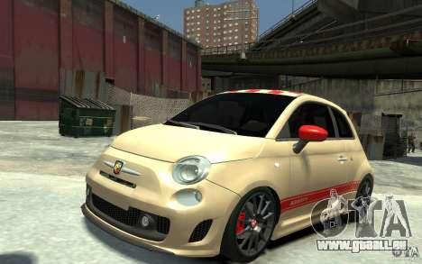 Fiat 500 Abarth Esseesse V1.0 pour GTA 4
