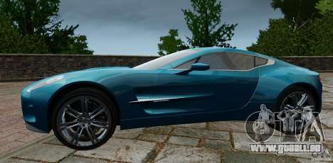 Aston Martin One-77 2012 für GTA 4 linke Ansicht