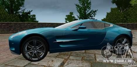 Aston Martin One-77 2012 pour GTA 4 est une gauche