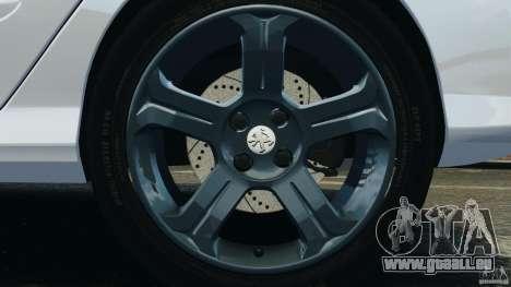 Peugeot 308 GTi 2011 Taxi v1.1 pour GTA 4 est une vue de dessous