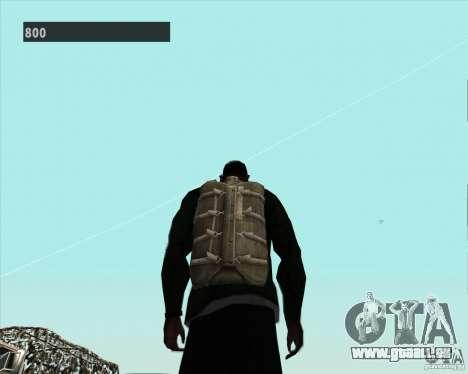 Black Ops Parachute für GTA San Andreas her Screenshot