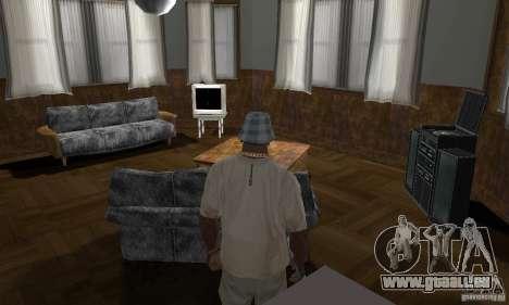 Maisons neuves à coffre intérieurs pour GTA San Andreas onzième écran