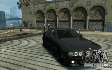 BMW M5 E39 für GTA 4 Rückansicht