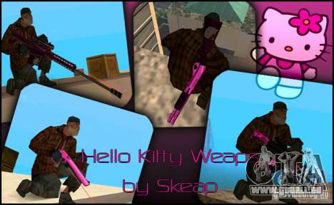 Hello Kitty weapon für GTA San Andreas