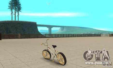Spin Wheel BMX v2 pour GTA San Andreas sur la vue arrière gauche