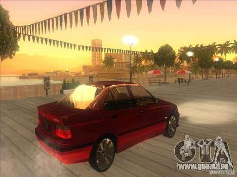 BMW E36 pour GTA San Andreas vue de droite