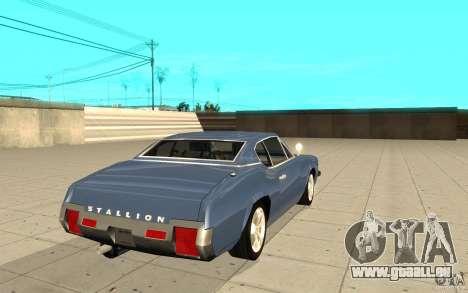 Hengst von GTA 4 für GTA San Andreas zurück linke Ansicht