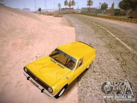 Volga GAZ-24 02 Van pour GTA San Andreas laissé vue