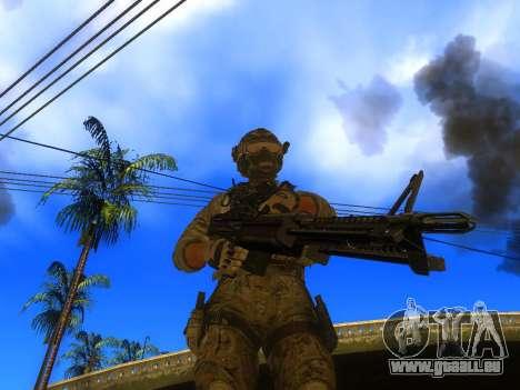 La mitrailleuse M60E4 pour GTA San Andreas
