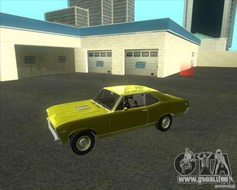 Chevy Nova SS 1969 für GTA San Andreas