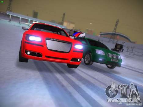 Chrysler 300C SRT8 2011 pour GTA San Andreas vue de côté