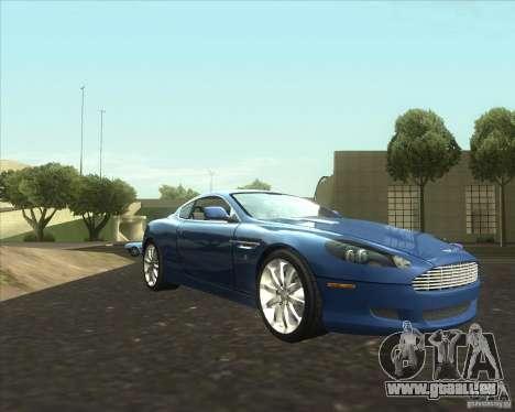 Aston Martin DB9 tunable für GTA San Andreas