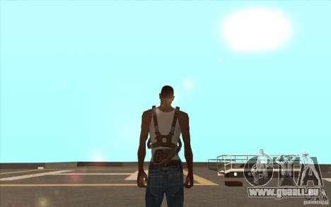 Parachute pour GTA San Andreas deuxième écran