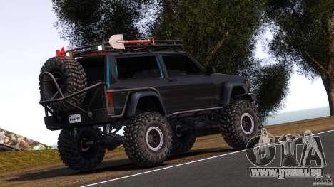 Jeep Cheeroke SE v1.1 pour GTA 4 Vue arrière de la gauche