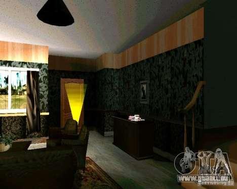 Nouvelle maison CJ v2.0 pour GTA San Andreas deuxième écran