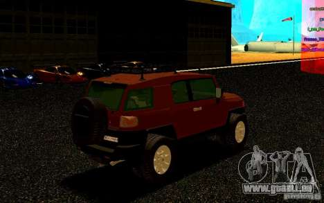 Toyota FJ Cruiser für GTA San Andreas rechten Ansicht