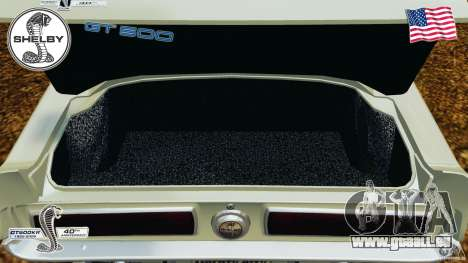 Shelby GT 500 pour GTA 4 est un côté