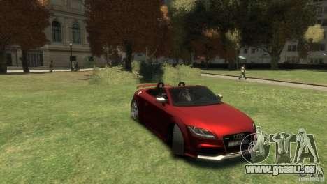 Audi TT RS Roadster für GTA 4 rechte Ansicht