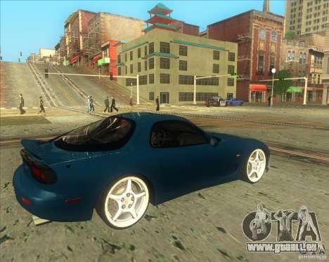 Mazda RX 7 für GTA San Andreas rechten Ansicht