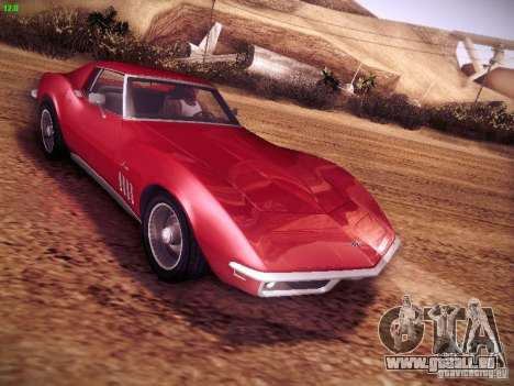 Chevrolet Corvette Stingray 1968 für GTA San Andreas