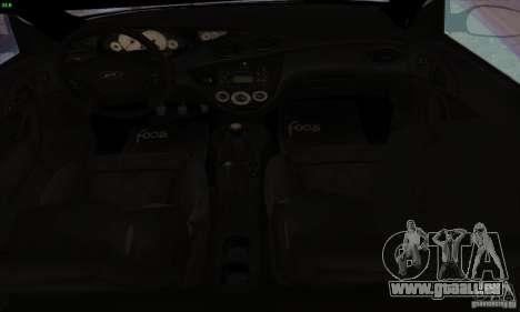 Ford Focus SVT TUNEABLE pour GTA San Andreas vue arrière