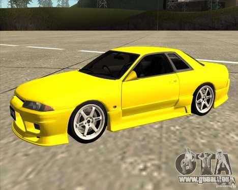 Nissan Skyline R32 Bee R pour GTA San Andreas