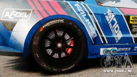 Ford Mustang 2010 GT1 pour GTA 4 Vue arrière
