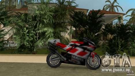 Yamaha YZR 500 pour une vue GTA Vice City de la gauche