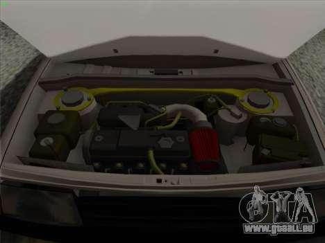 VAZ 21099 Drain pour GTA San Andreas vue de dessus