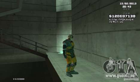 Gordon Freeman für GTA San Andreas zweiten Screenshot