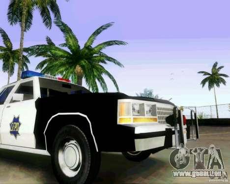 Ford Crown Victoria LTD 1991 SFPD für GTA San Andreas Rückansicht