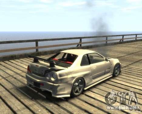 Nissan Skyline GT-R34 Nismo pour GTA 4 est un droit