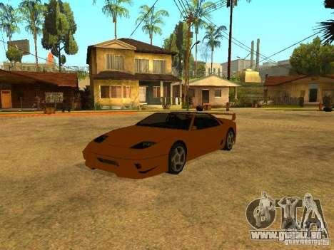 Voitures de frai pour GTA San Andreas cinquième écran