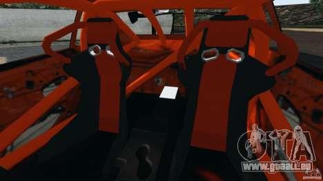 Nissan Silvia S15 HKS pour GTA 4 est une vue de l'intérieur