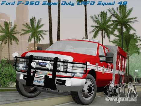 Ford F-350 Super Duty LAFD für GTA San Andreas