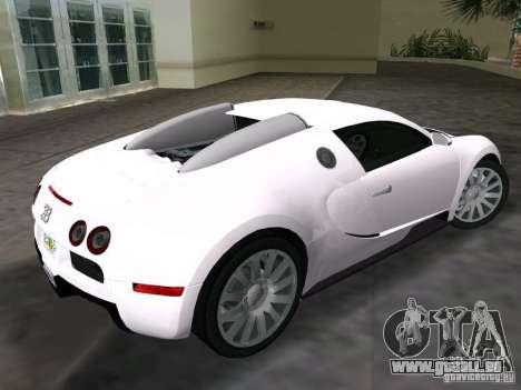 Bugatti Veyron EB 16.4 für GTA Vice City linke Ansicht