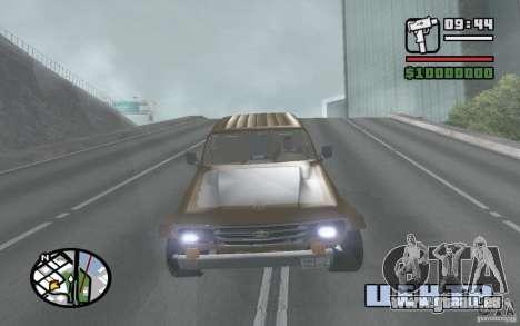 Toyota Land Cruiser 70 pour GTA San Andreas vue de droite