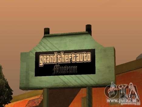 GTA Museum pour GTA San Andreas