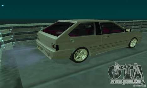 VAZ 2113 ADT Art Tuning pour GTA San Andreas sur la vue arrière gauche
