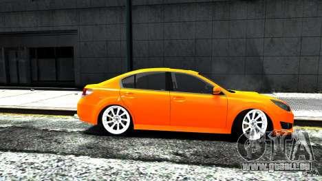 Subaru Legacy B4 pour GTA 4 Vue arrière de la gauche